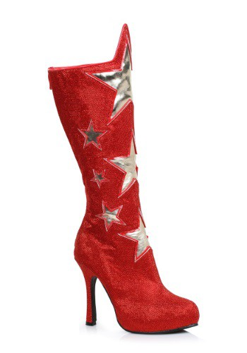 Adult Red Hero Boots