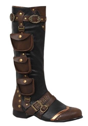 Click Here to buy Mens Steampunk Boots from HalloweenCostumes, CDN Funds