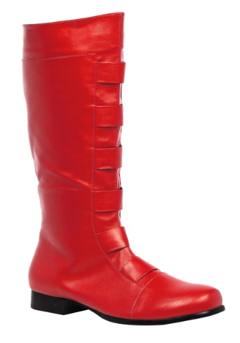 Adult Red Superhero Boot