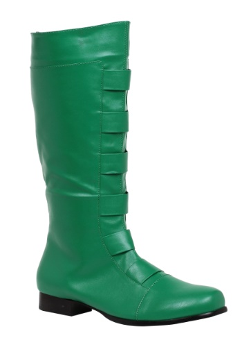 INOpets.com Anything for Pets Parents & Their Pets Adult Green Superhero Boots