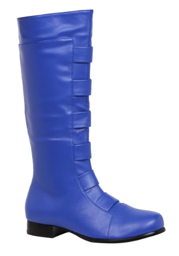 Adult Blue Superhero Boots By: Ellie for the 2015 Costume season.