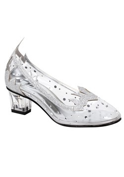 Girl's Silver Glitter Shoes new