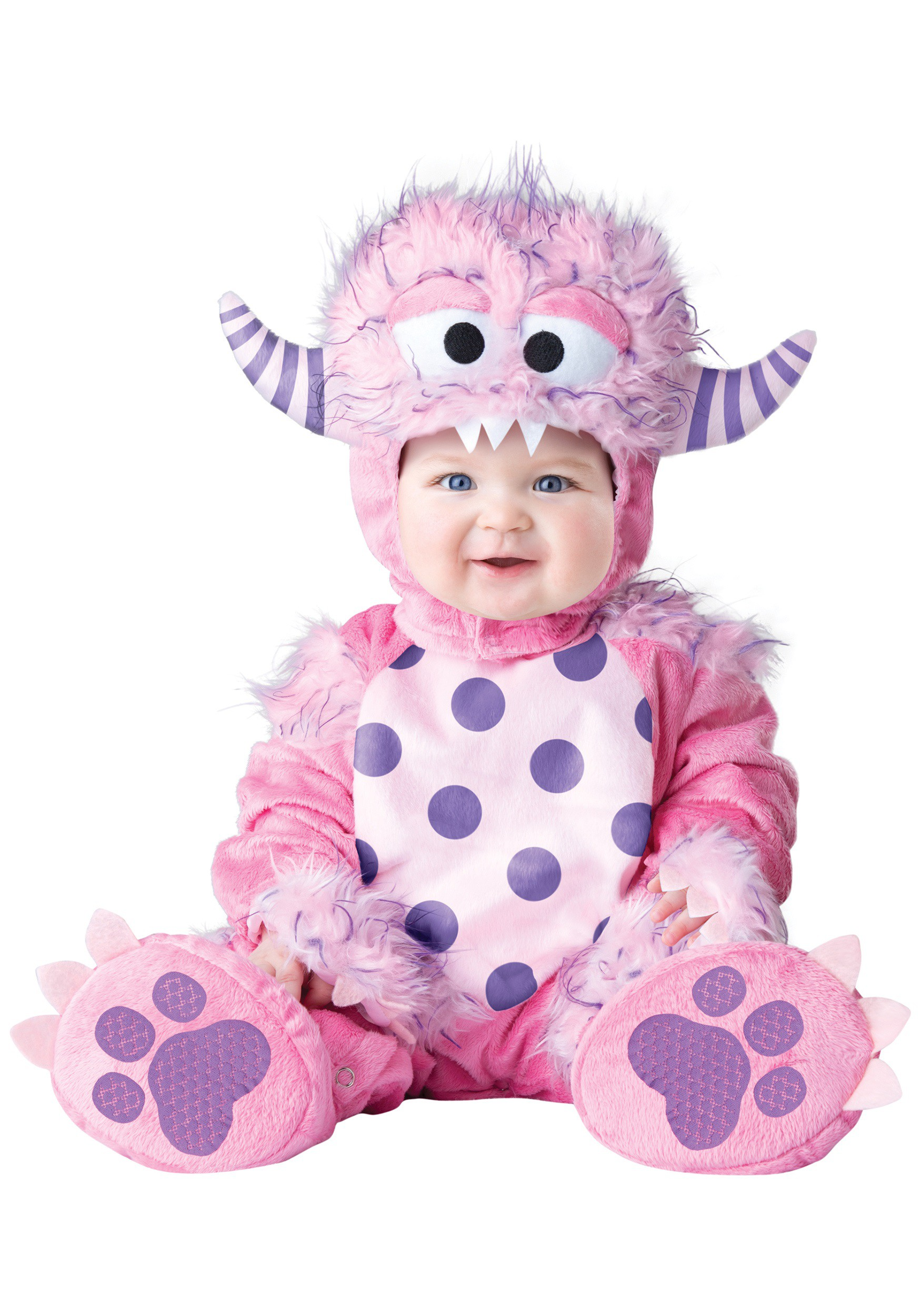 infant toddler lil pink monster costume. Black Bedroom Furniture Sets. Home Design Ideas