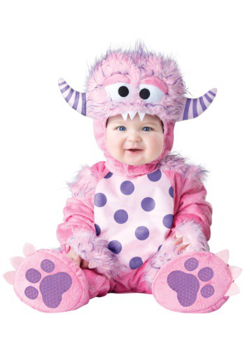 Click Here to buy Baby/Toddler Lil Pink Monster Costume from HalloweenCostumes, CDN Funds