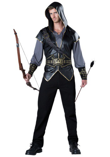 Mens Hooded Huntsman Costume