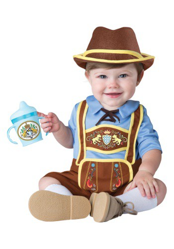Click Here to buy Baby/Toddler Little Lederhosen Costume from HalloweenCostumes, USA Funds & Shipping