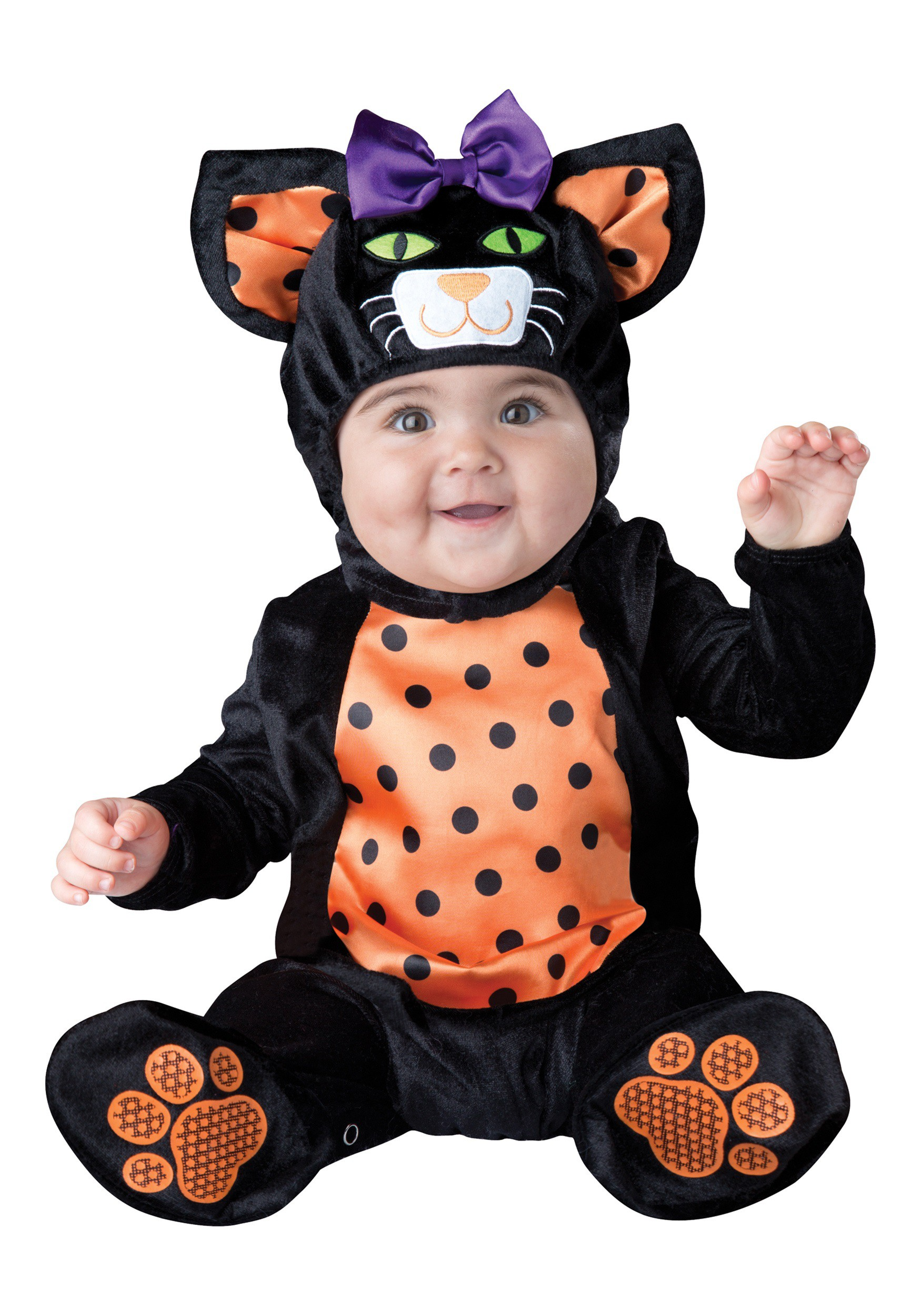 Infant / Toddler Mini Meow Cat Costume  sc 1 st  Halloween Costumes & Cat Costumes for Kids and Adults - HalloweenCostumes.com