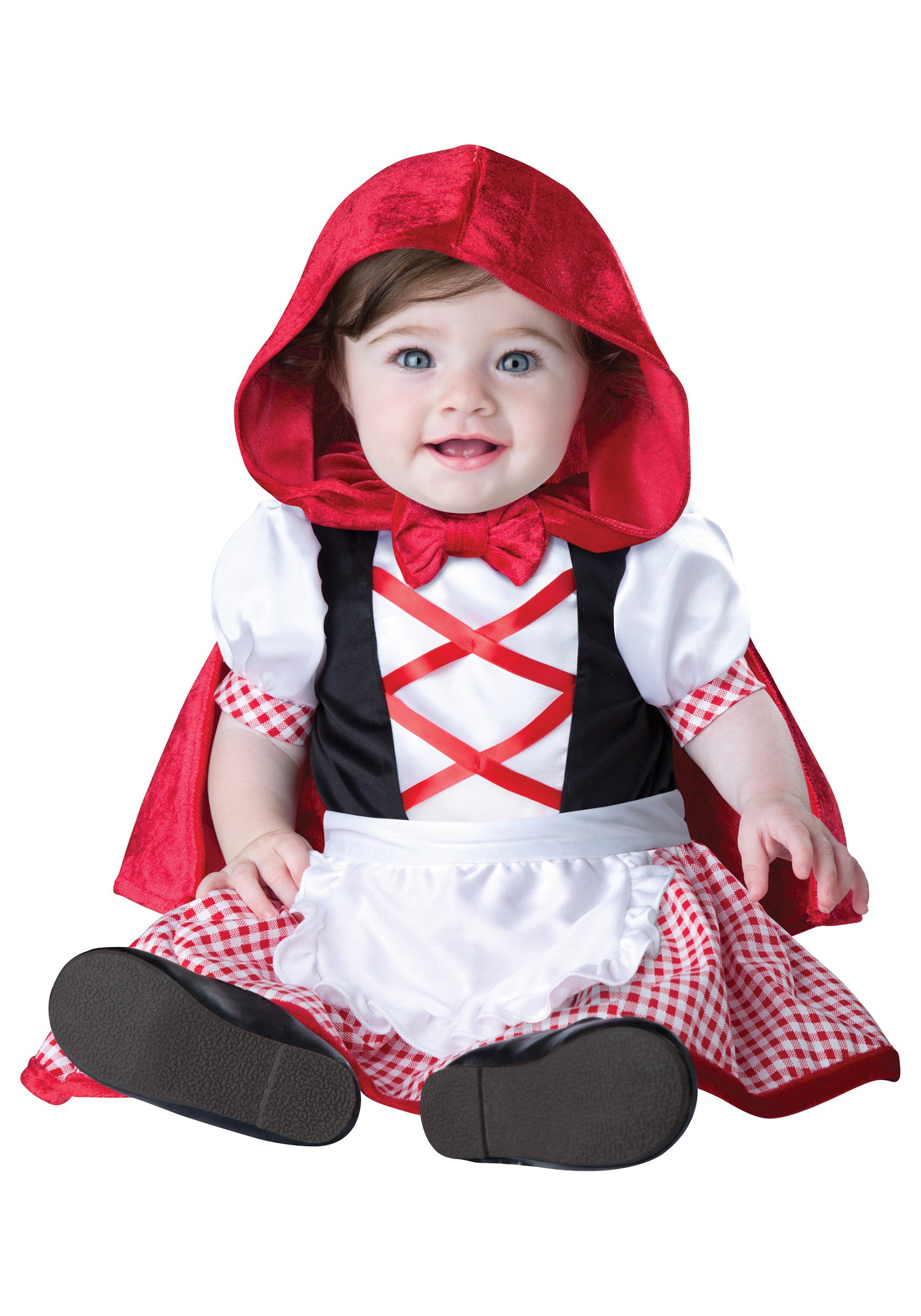 infant toddler little red riding hood costume. Black Bedroom Furniture Sets. Home Design Ideas