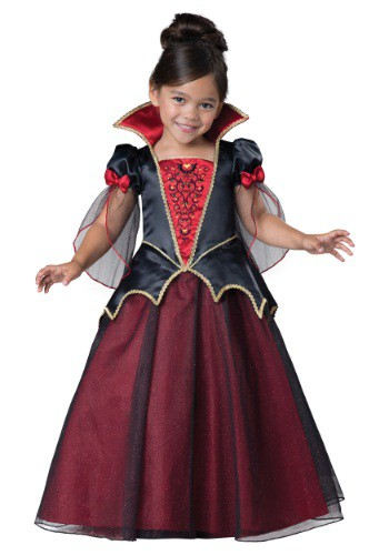 Click Here to buy Toddler Vampiress Costume from HalloweenCostumes, USA Funds & Shipping