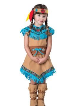 Girls Toddler Indian Costume