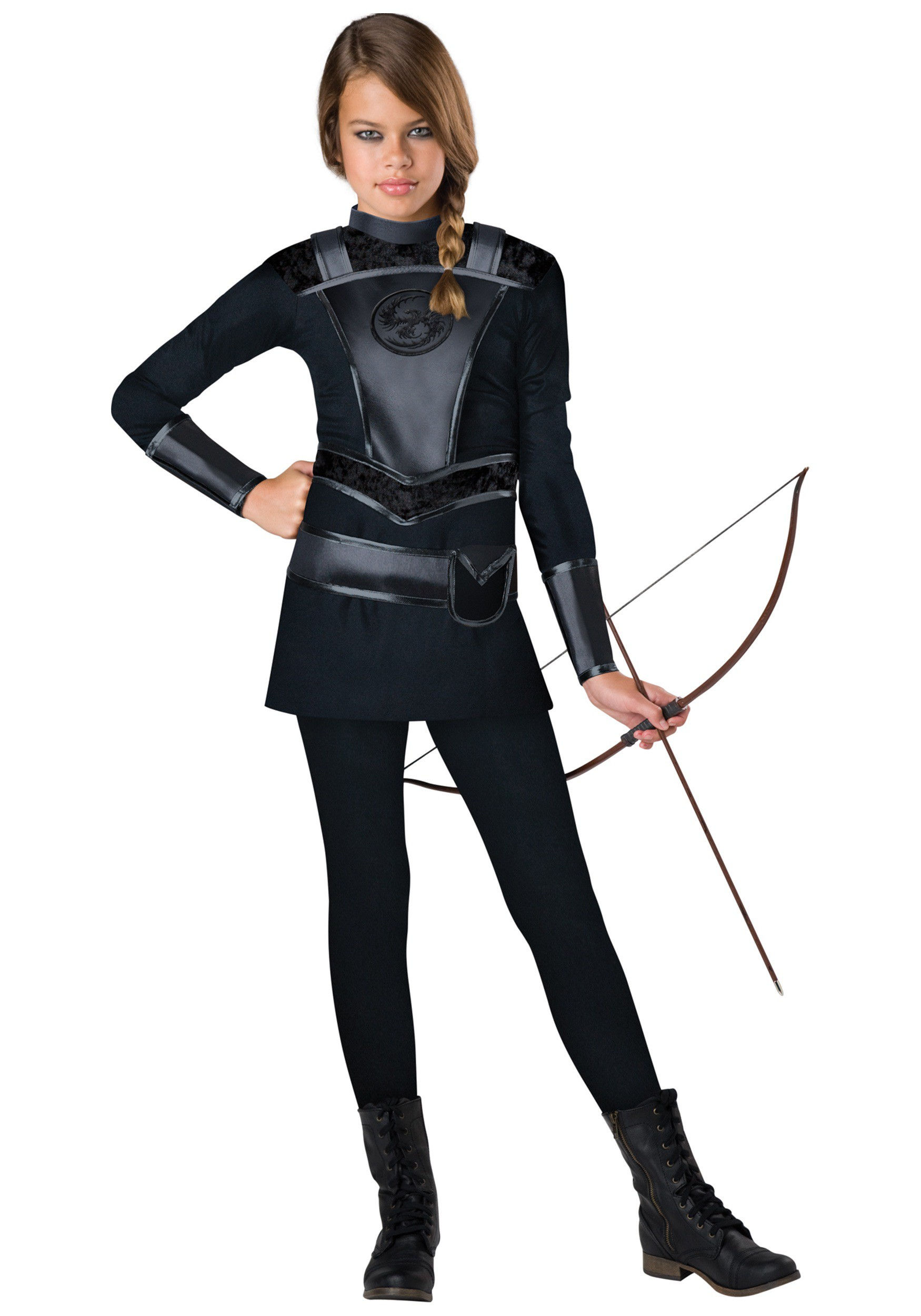 sc 1 st  Halloween Costumes & Tween Warrior Huntress Costume