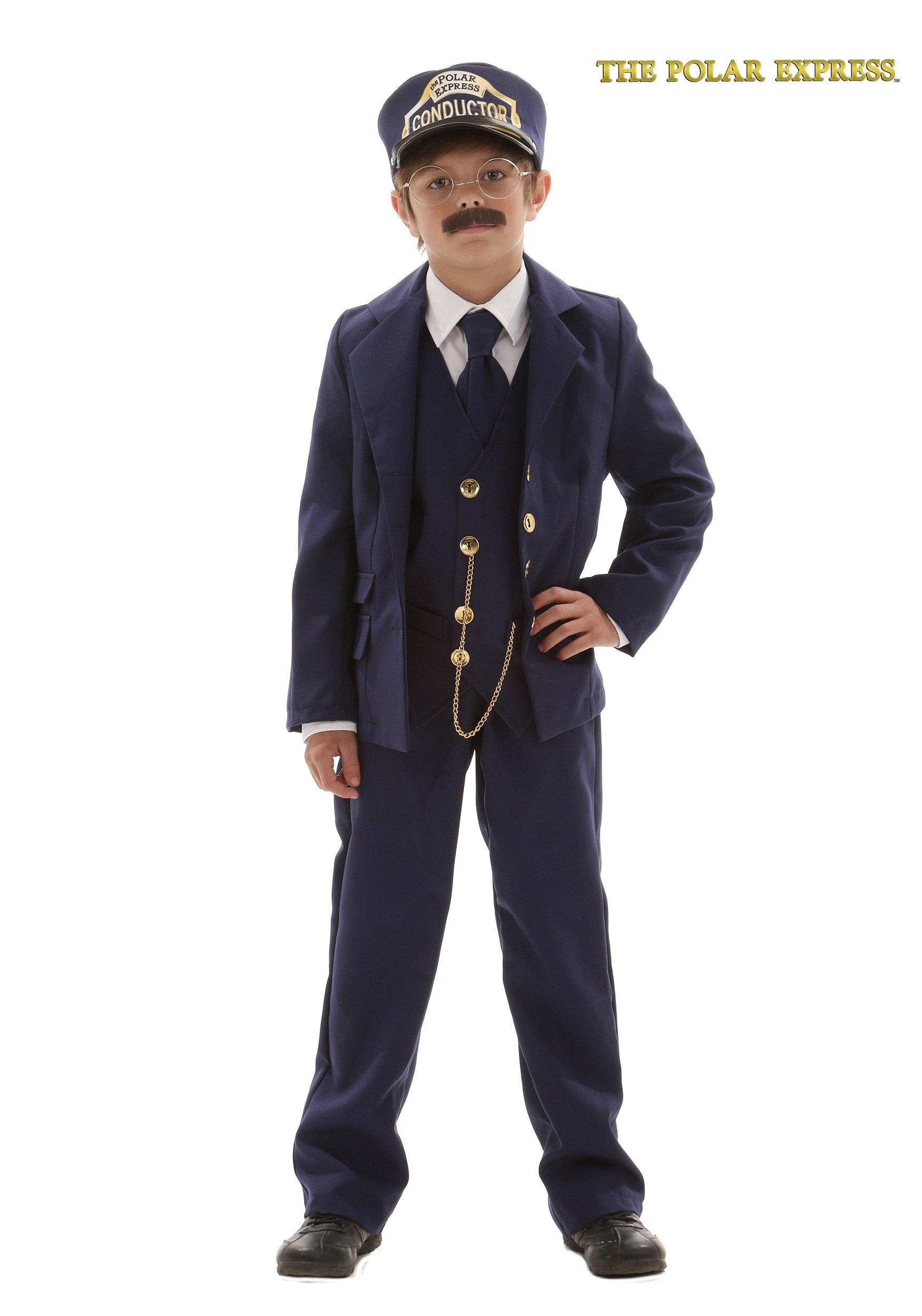 Child Polar Express Conductor  sc 1 st  Halloween Costumes & Child Polar Express Conductor Costume