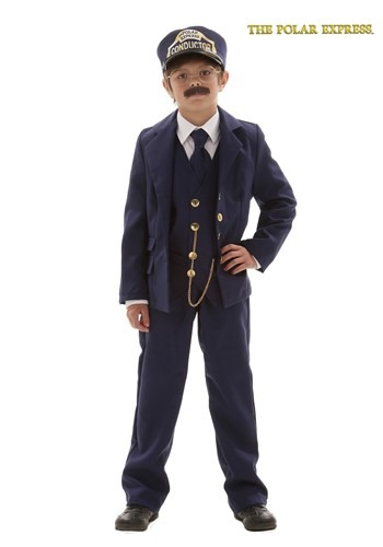 Child Polar Express Conductor