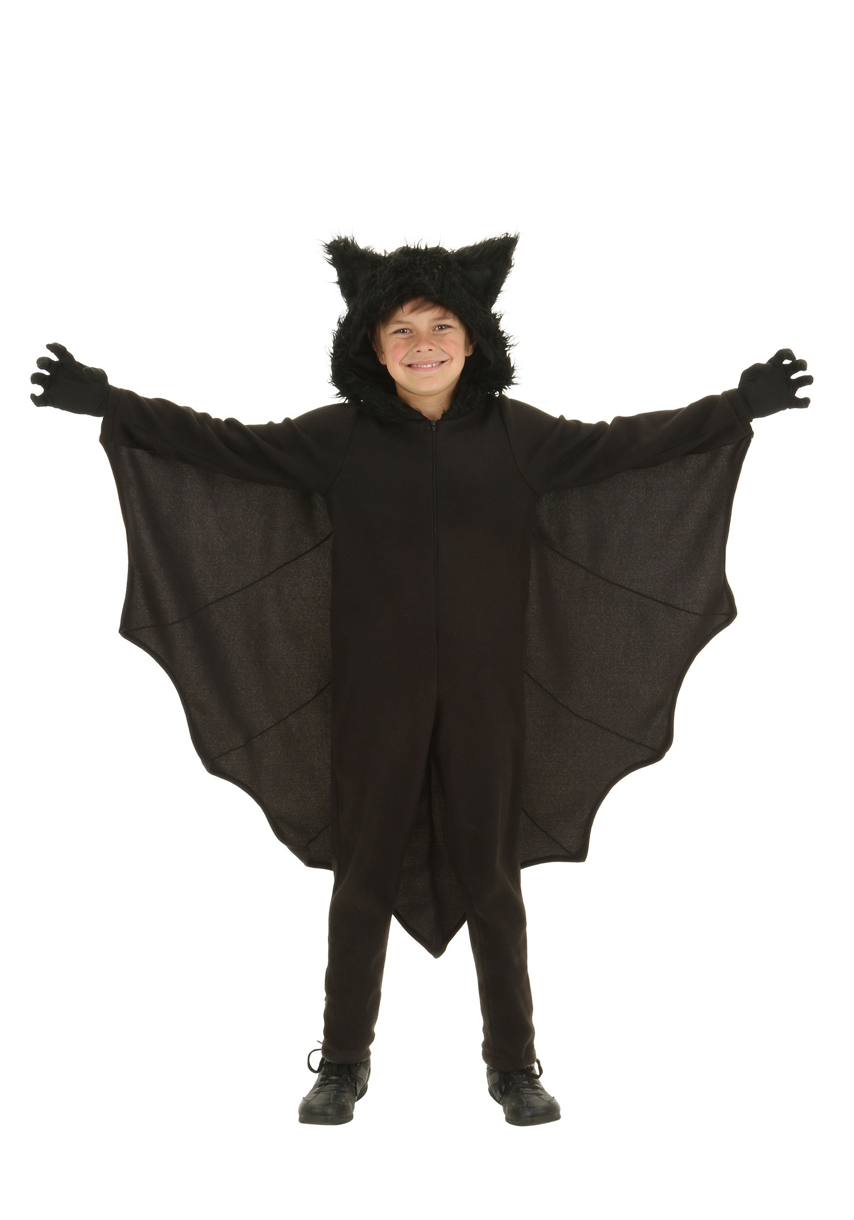 sc 1 st  Halloween Costumes & Child Fleece Bat Costume