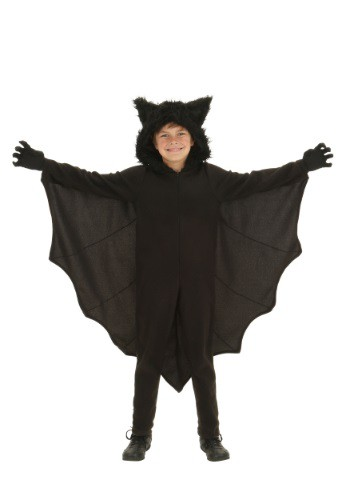 Kid's Fleece Bat Costume