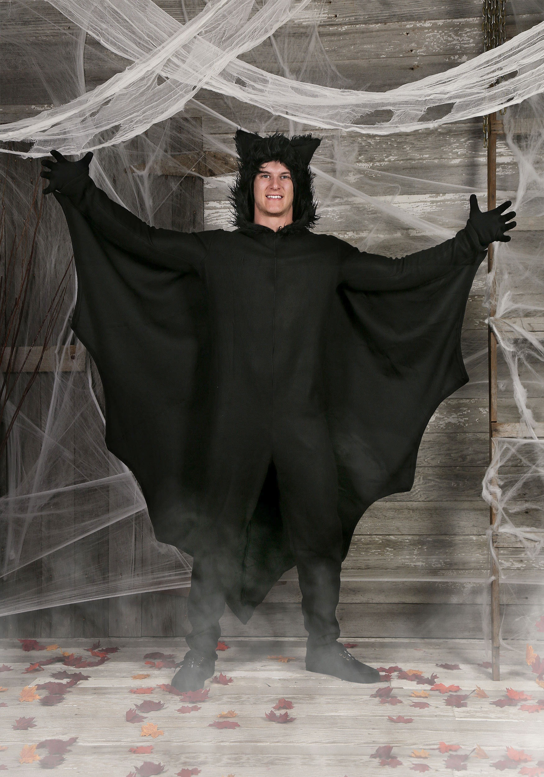 Plus Fleece Bat Costume