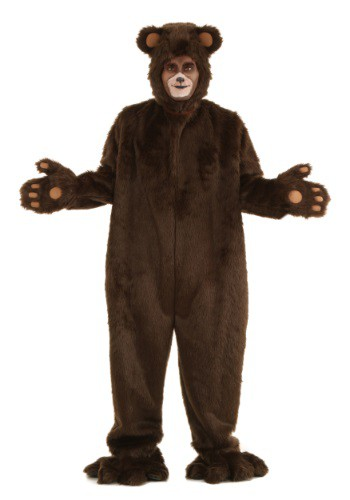 Adult Deluxe Furry Brown Bear Costume By: Fun Costumes for the 2015 Costume season.