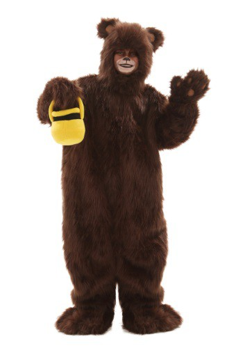 Child Deluxe Furry Brown Bear Costume By: Fun Costumes for the 2015 Costume season.