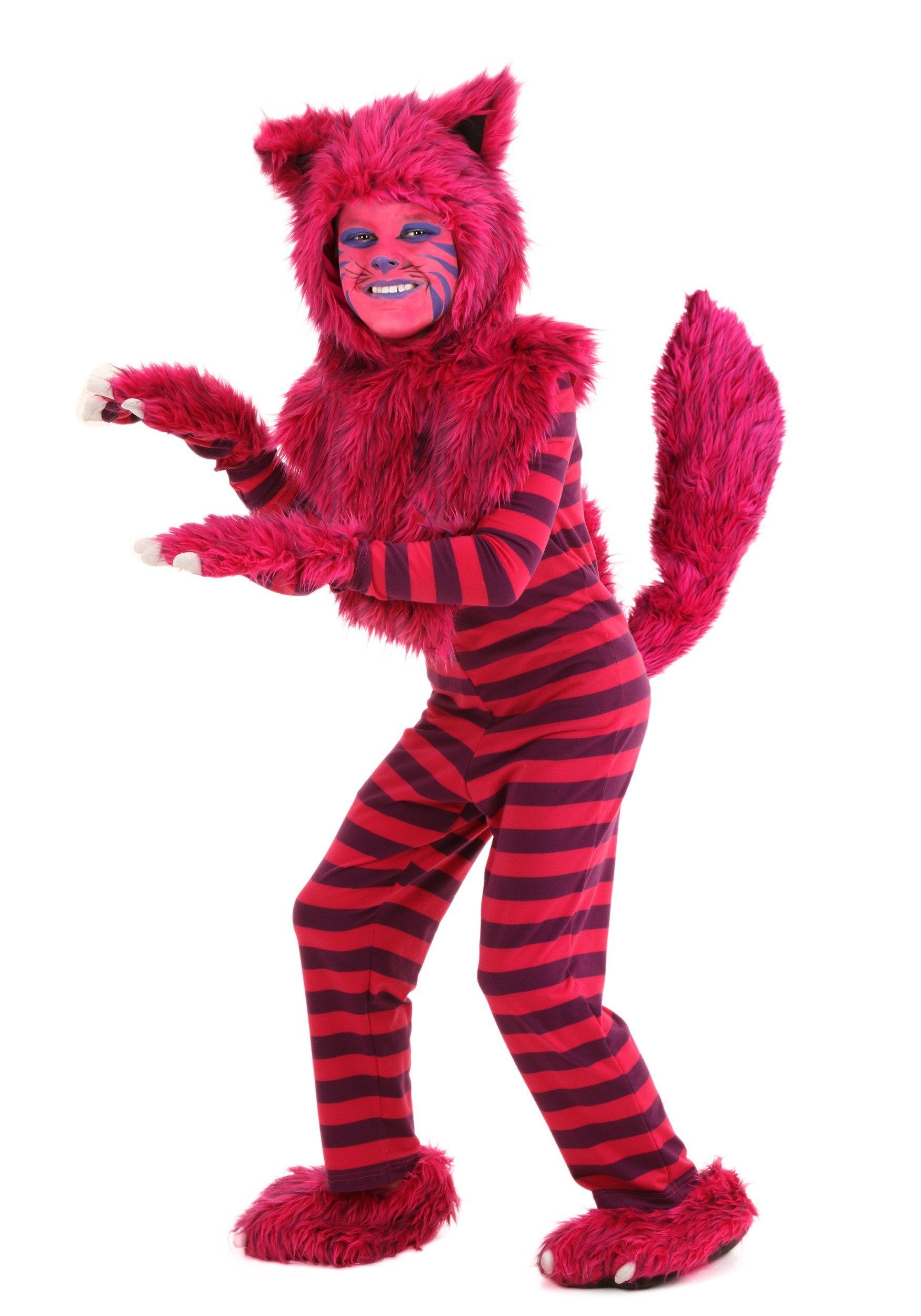 Child Deluxe Cheshire Cat Costume Child Deluxe Cheshire Cat