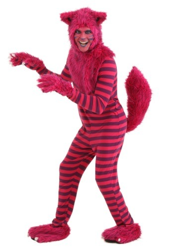 Click Here to buy Deluxe Cheshire Cat Costume for Adults from HalloweenCostumes, USA Funds & Shipping