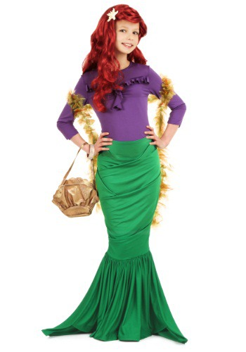 Child Bubbly Mermaid Costume