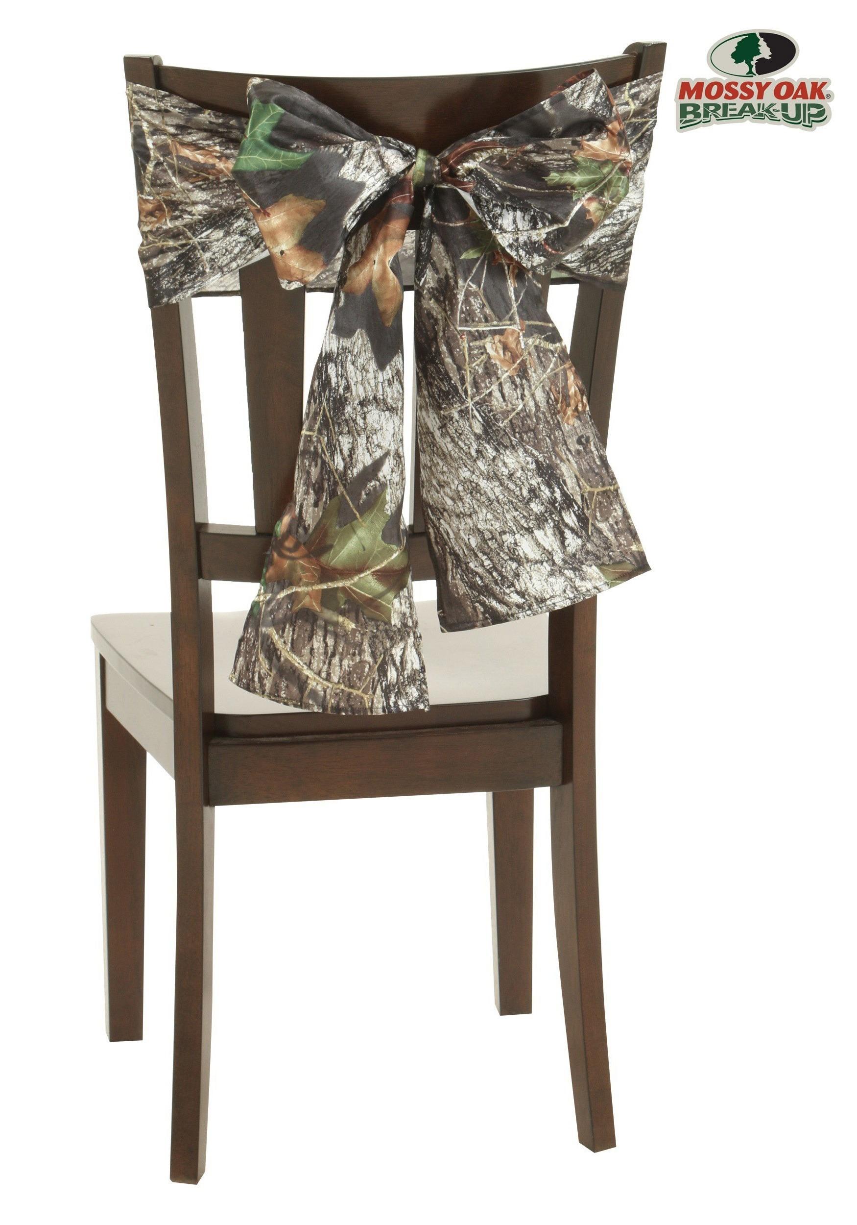 Mossy Oak Camo Chair Tie