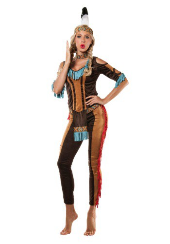 Image of Womens Tribal Native American Costume