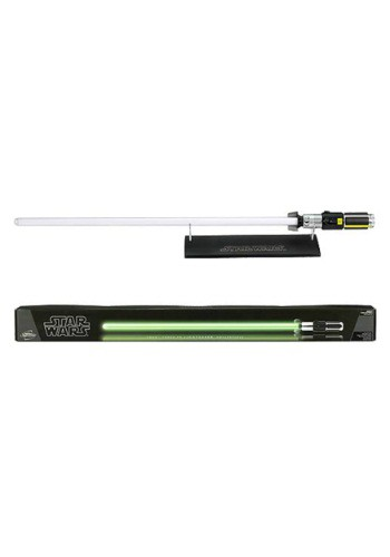 Star Wars Force FX Yoda Lightsaber Replica By: Hasbro for the 2015 Costume season.