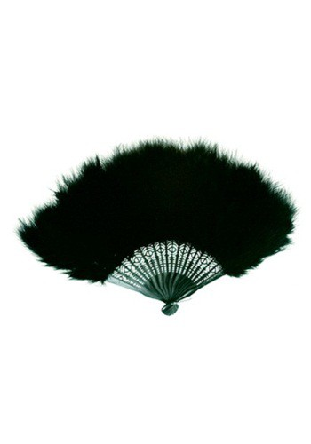 Black Marabou Feather Fan By: Zucker Feather for the 2015 Costume season.