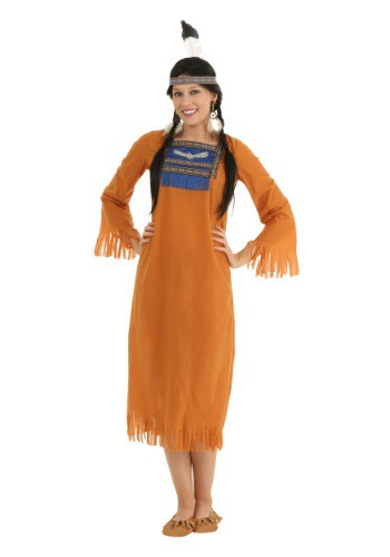 Click Here to buy Womens Native American Dress from HalloweenCostumes, CDN Funds