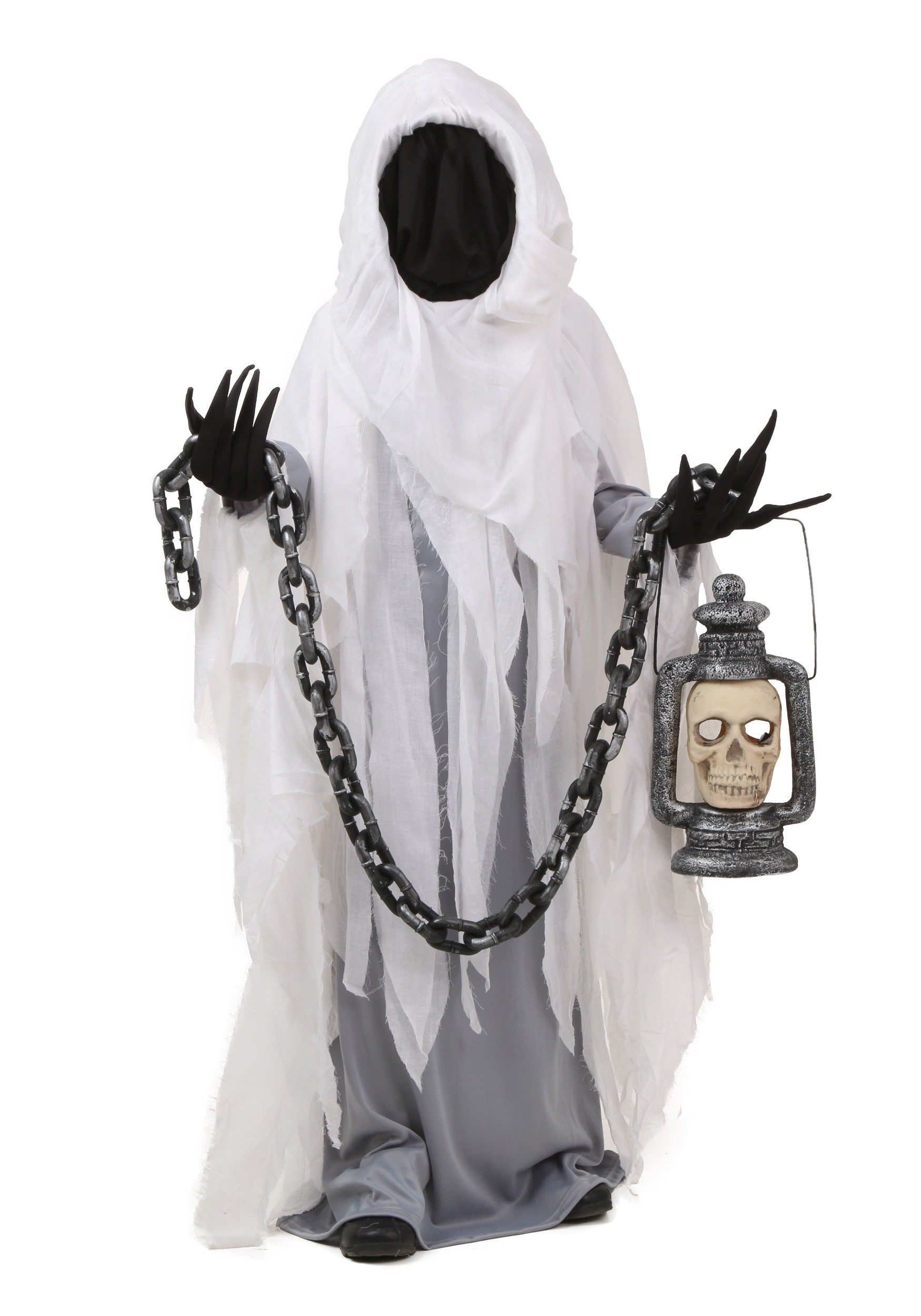 sc 1 st  Halloween Costumes & Child Spooky Ghost Costume