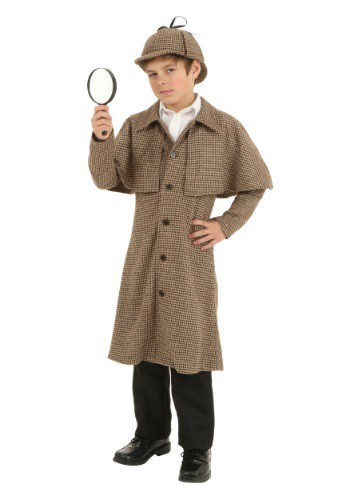 Diy or buy sherlock holmes and watson costumes child sherlock holmes costume solutioingenieria Image collections