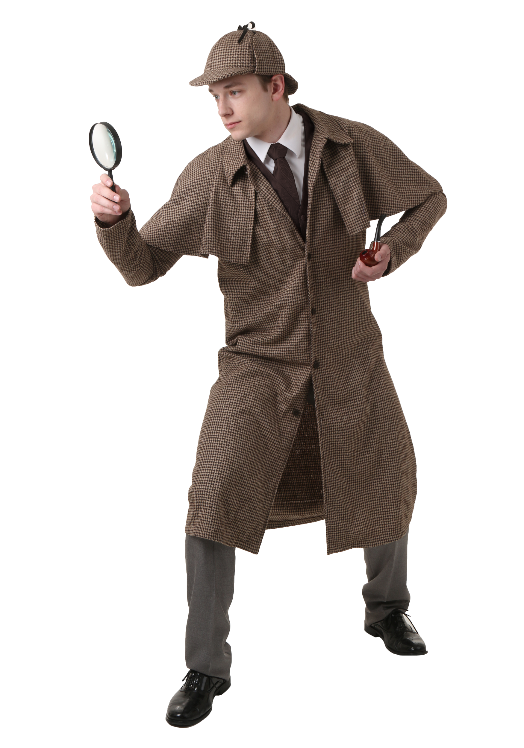 adult sherlock holmes costume. Black Bedroom Furniture Sets. Home Design Ideas