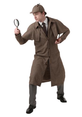 Plus Size Sherlock Holmes Costume