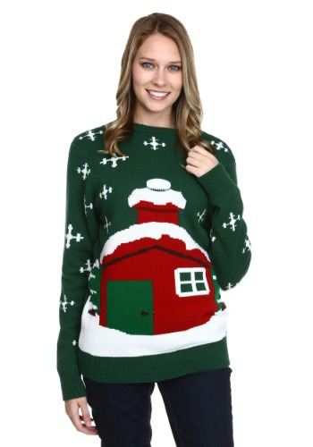 Image of Stuck Santa Ugly Christmas Sweater