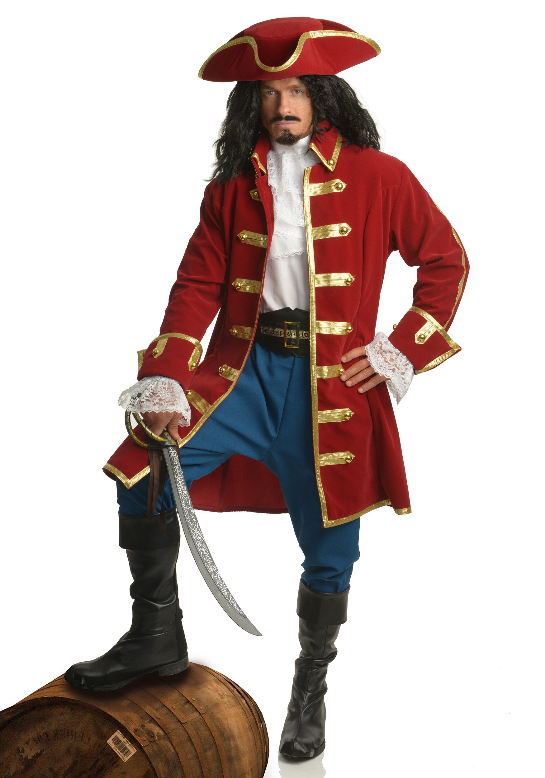 sc 1 st  Halloween Costumes & Mens Rum Pirate Costume