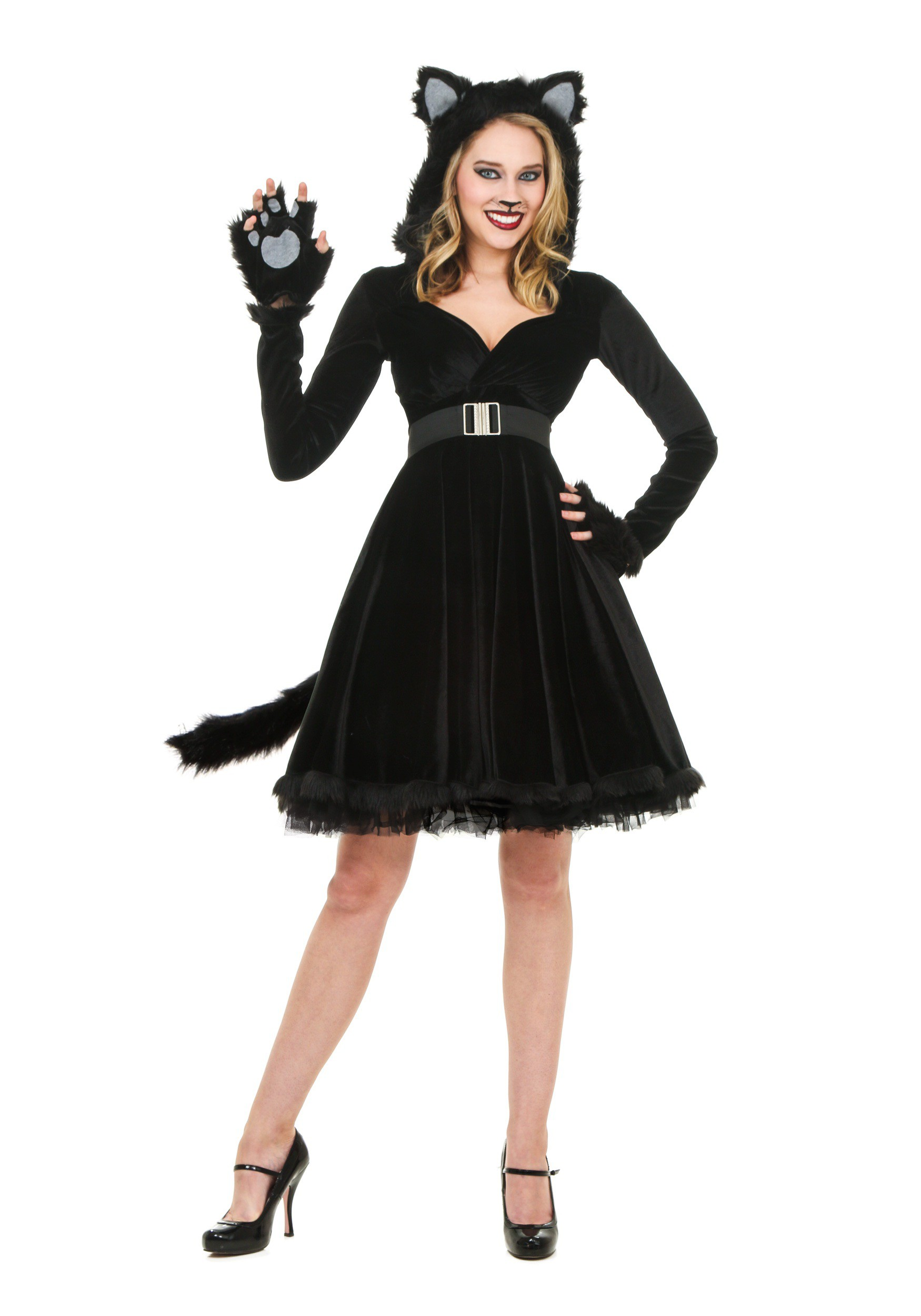 Women s Black Cat Costume 1c98fee4a1