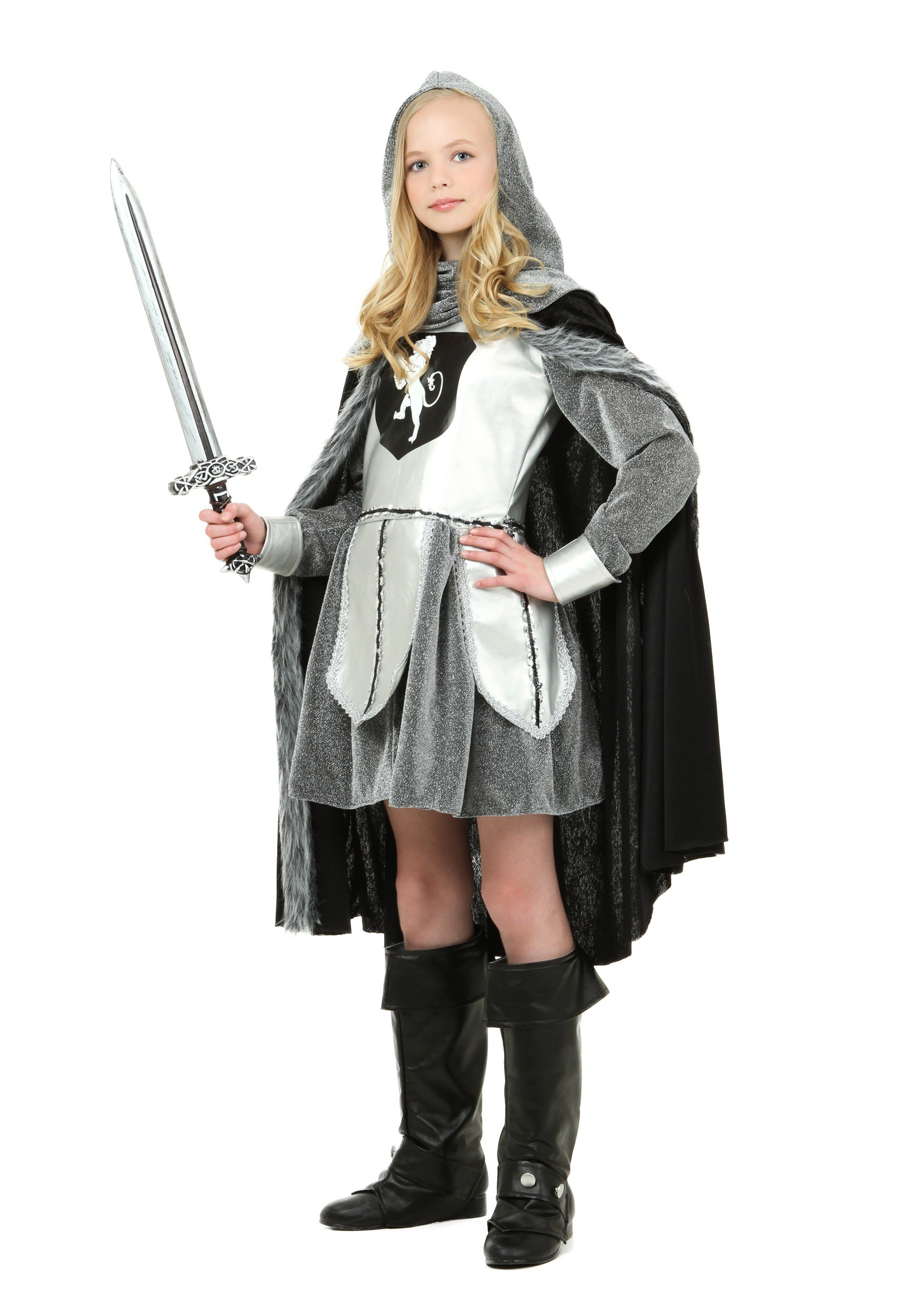 sc 1 st  Halloween Costumes & Teen Warrior Knight Costume