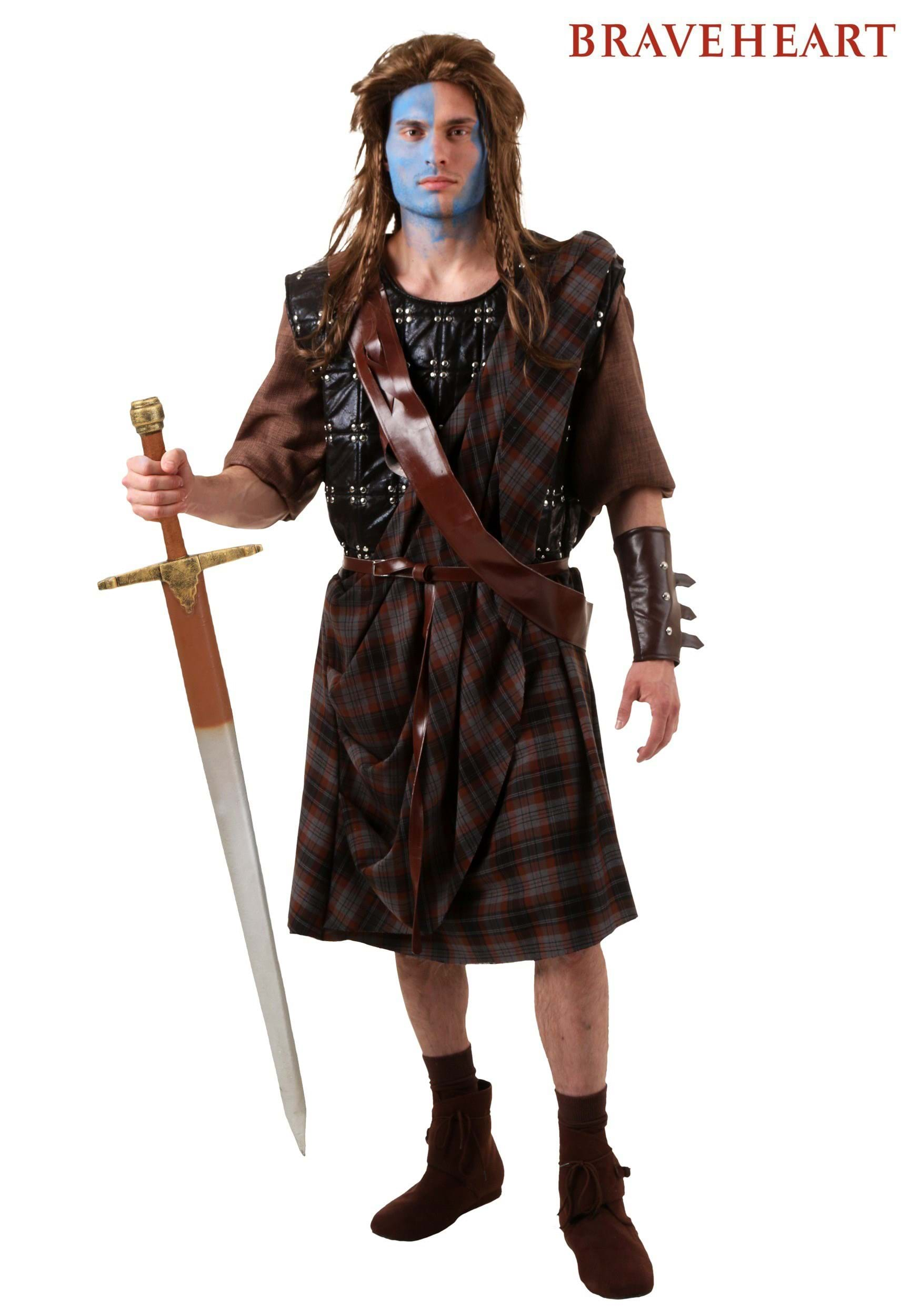 adult braveheart william wallace costume - Scottish Girl Halloween Costume