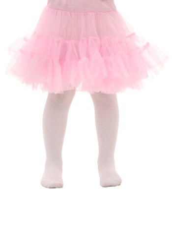 Click Here to buy Toddler Pink Knee Length Crinoline from HalloweenCostumes, CDN Funds