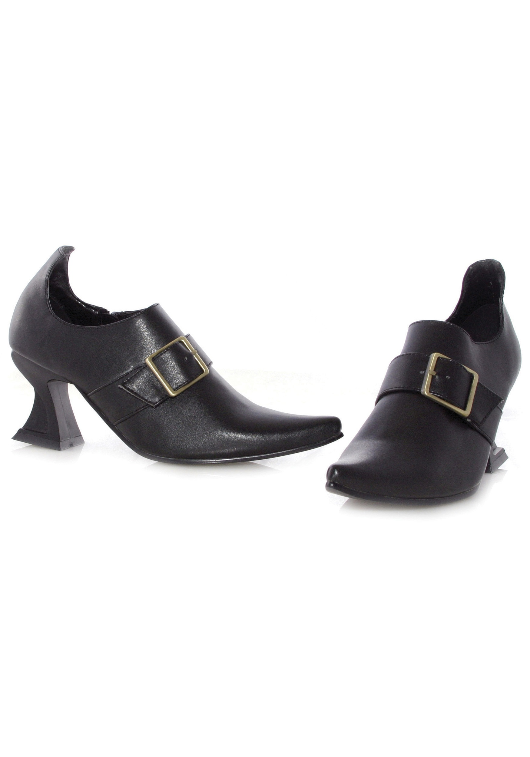 Black Munchkin Shoes Girls Black Witch Shoes$22.99