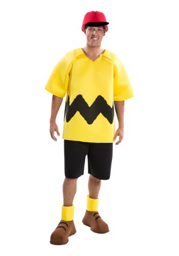 Peanuts Adult Charlie Brown Costume LI6292