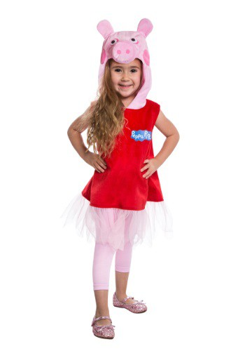 Click Here to buy Peppa Pig Ballerina Costume from HalloweenCostumes, USA Funds & Shipping