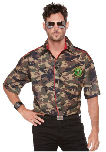 Image of Men's Army Shirt