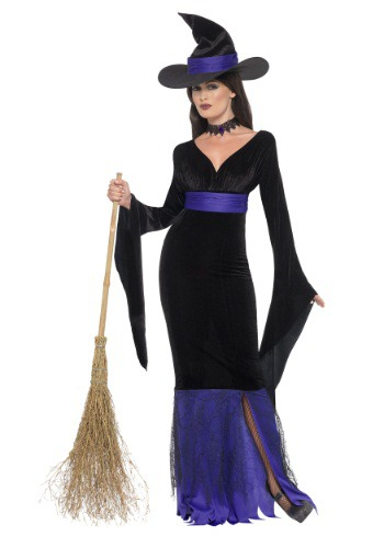 Image of Women's Glamorous Witch Costume