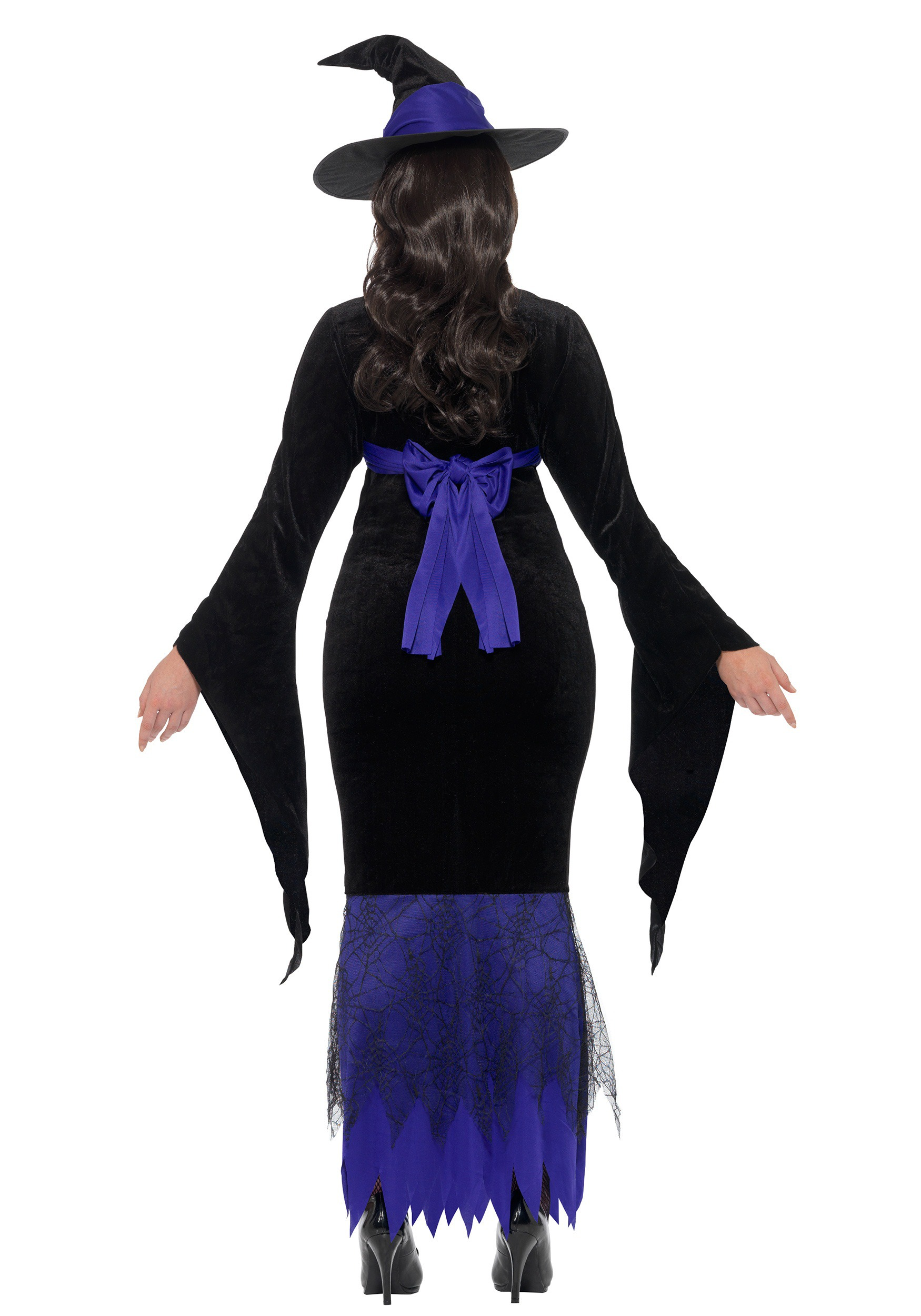Women's Plus Size Glamorous Witch Costume