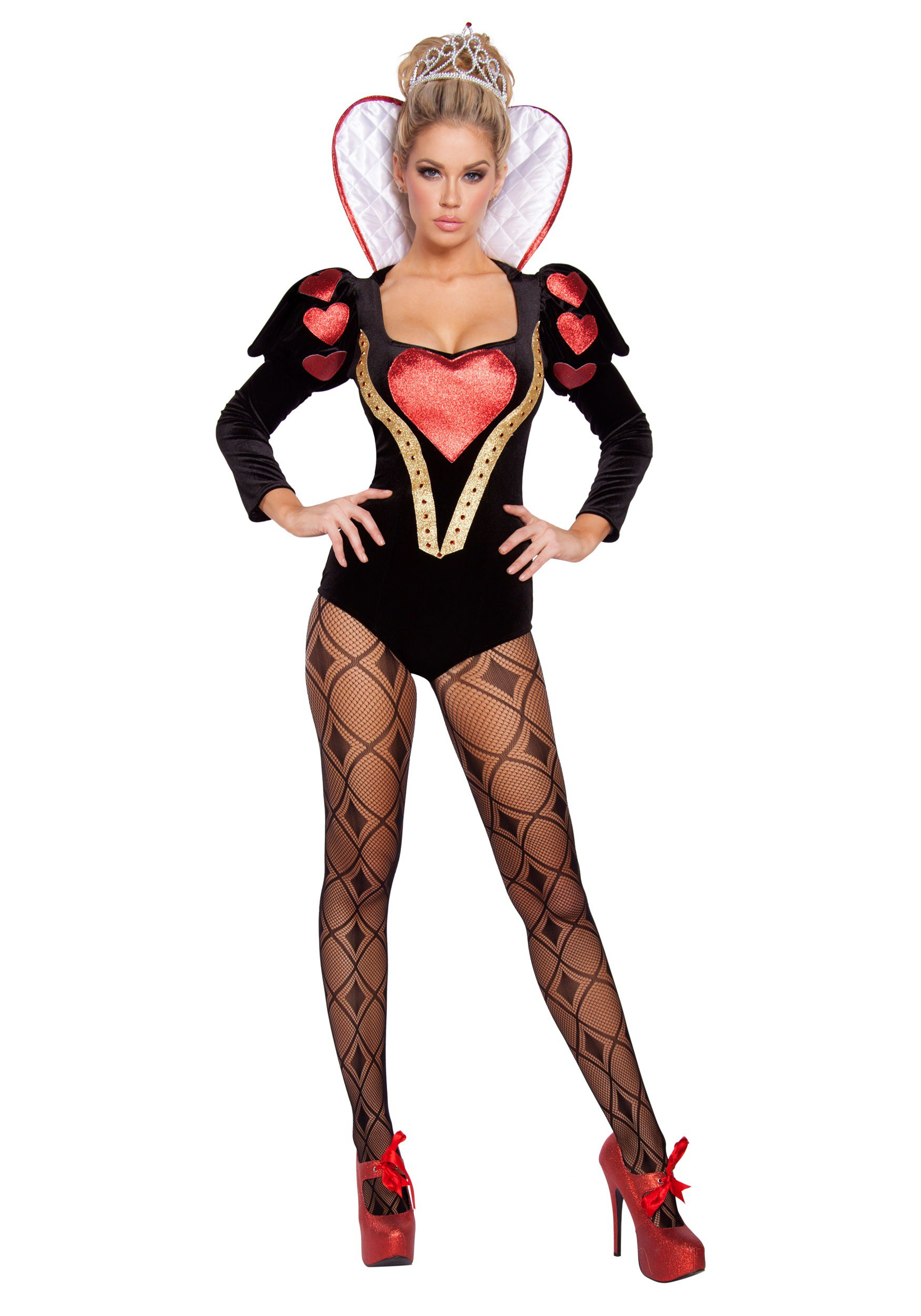 Womens Sexy Heartless Mistress Costume-6952