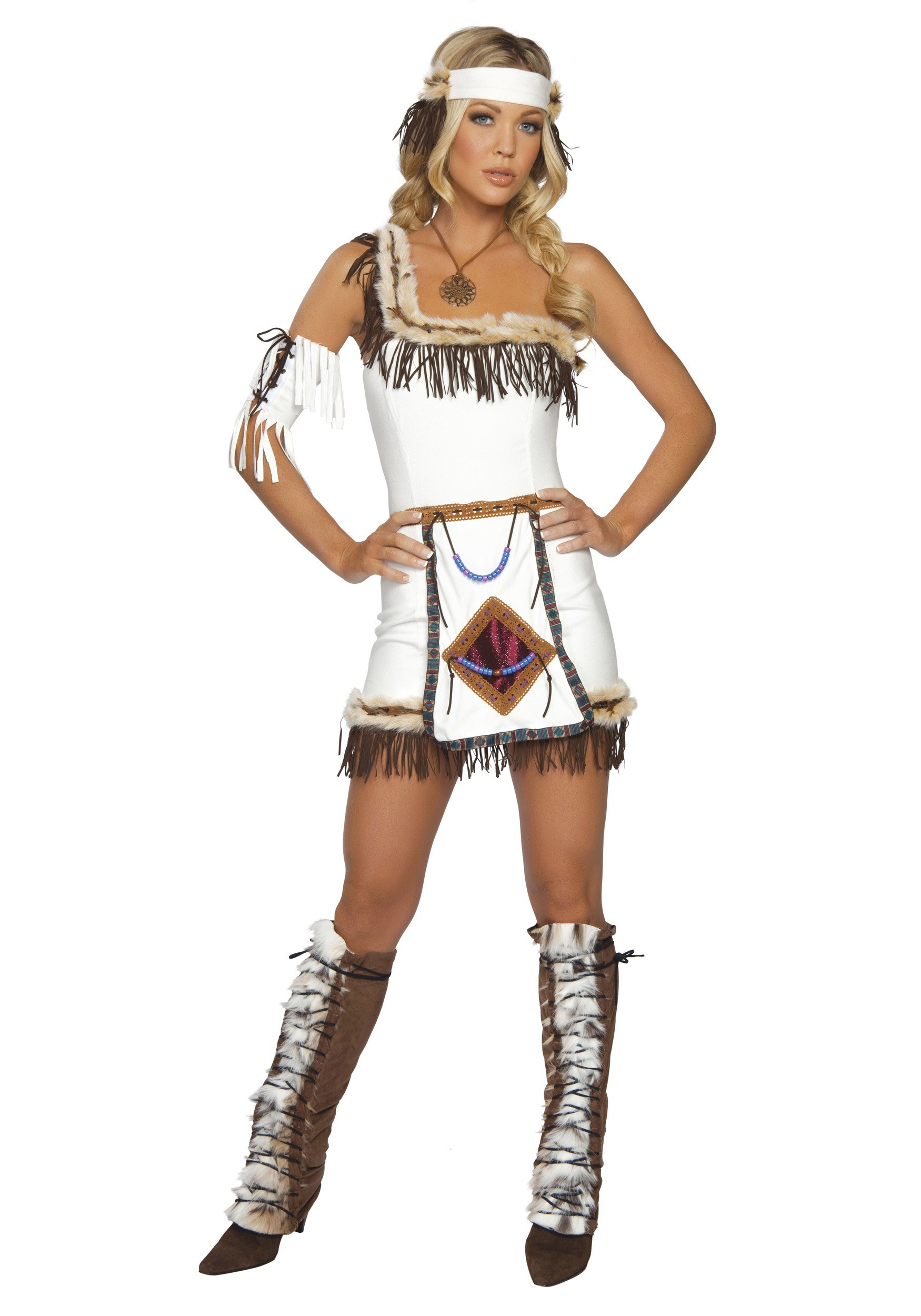 Faux Suede Indian Boot Covers  sc 1 st  Halloween Costumes & Faux Suede Native American Boot Covers