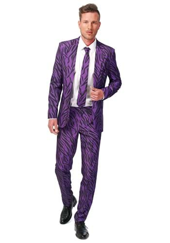 SuitMeister Basic Pimp Tiger Suit Costume for Men