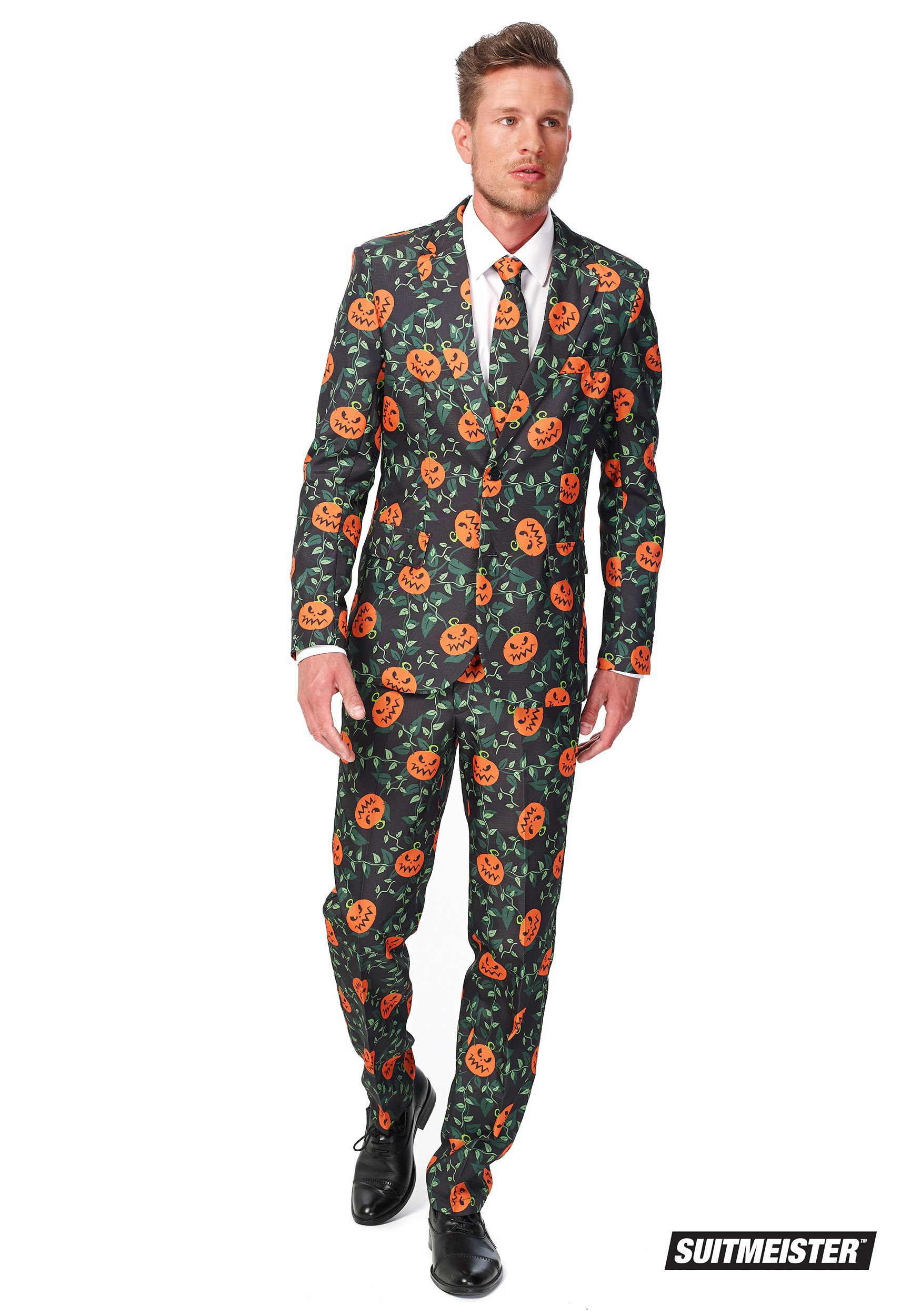 Men Suitmeister Basic Pumpkin Suit